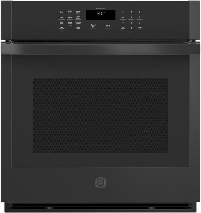"GE® 27"" Black Electric Single Oven Built In-JKS3000DNBB"