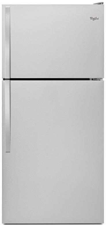 Whirlpool® 18.25 Cu. Ft. Monochromatic Stainless Steel Top Freezer Refrigerator-WRT148FZDM