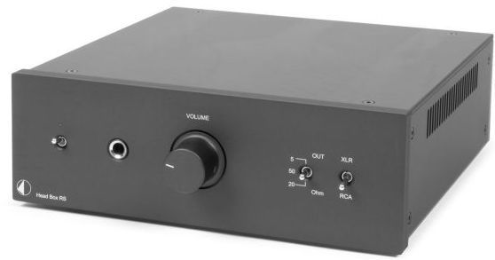 Pro-Ject RS Line Black High-End Headphone Amplifier-Head Box RS-BL