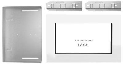 "KitchenAid 30"" Microwave Trim Kit-White-MK2220AW"
