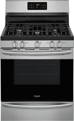 """Frigidaire Gallery® 30"""" Stainless Steel Free Standing Gas Range-GCRG3038AF"""
