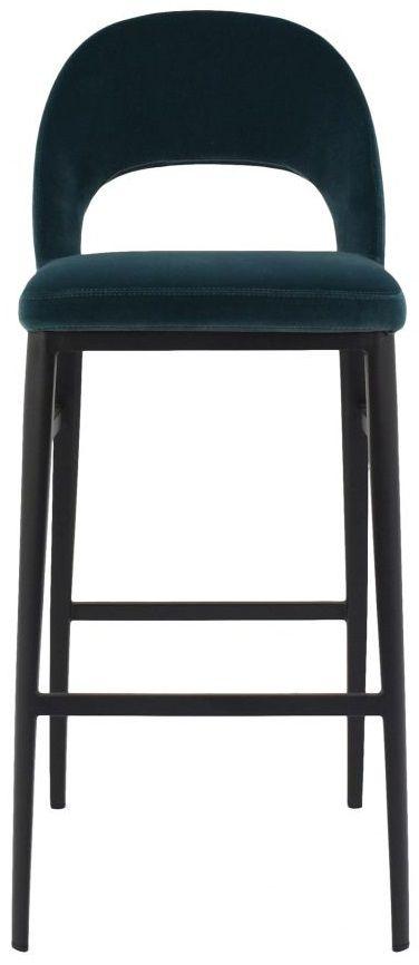 Tabouret de bar Roger, vert, Moe's Home Collections®-EJ-1037-36