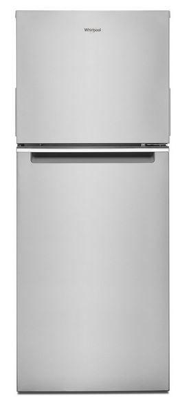 Whirlpool® 11.6 Cu. Ft. Fingerprint-Resistant Stainless Top Freezer Refrigerator-WRT312CZJZ