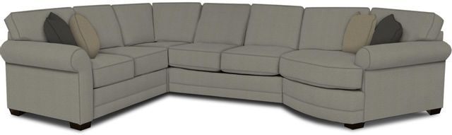 England Furniture Co. Brantley 4 Piece Culpepper Cement/Alvarado Mineral/Tweetie Spice Sectional-5630-28-22-43-95+8612+8315+8601