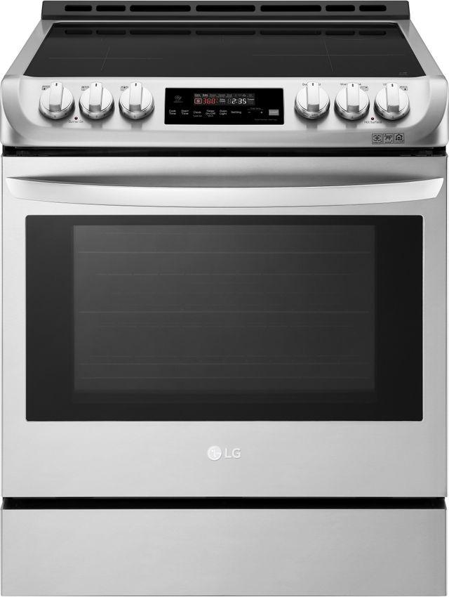 Cuisinière électrique encastrée à induction LG® de 6,3 pi³ de 30 po - Acier inoxydable-LSE4616ST