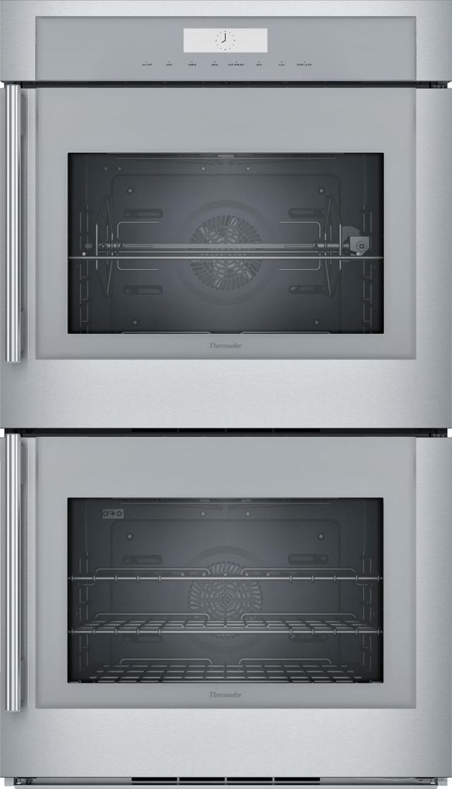 """Thermador® Masterpiece® 30"""" Electric Built in Double Oven-Stainless Steel-MED302RWS"""