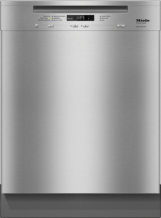 """Miele 24"""" Clean Touch Stainless Steel Built in Dishwasher-G6625SCUSS-12-3166"""