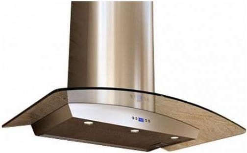 """Zephyr Essentials Europa Milano-G 36"""" Under Cabinet Hood-Stainless Steel-ZMI-M90BG"""