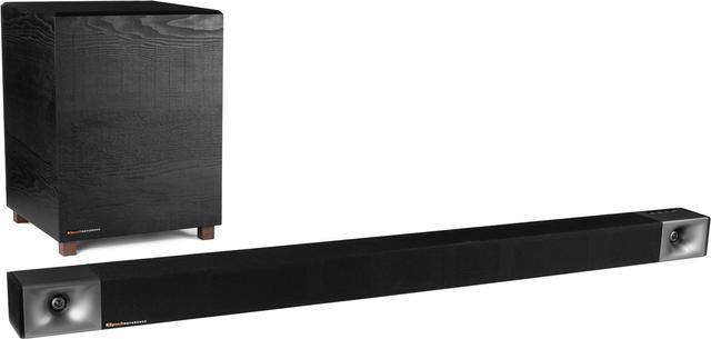 "Klipsch® Bar 40 Black 2.1 Sound Bar with 6.5"" Wireless Subwoofer-1064247"