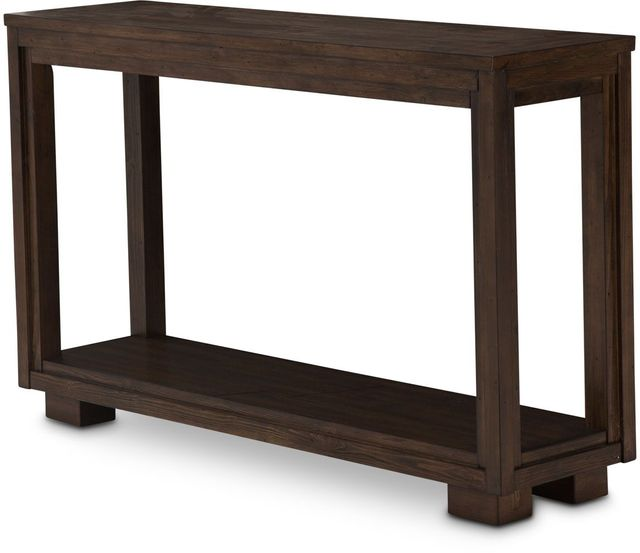 Michael Amini® Carrollton Rustic Ranch Console Table-KI-CRLN223-407