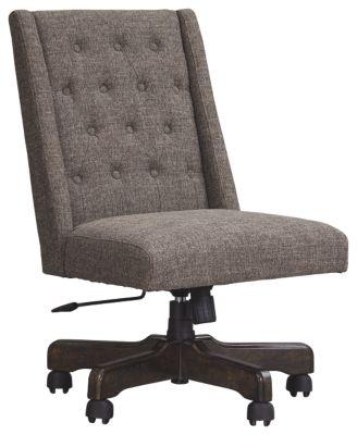 Signature Design by Ashley® Office Chair Program Graphite Swivel Desk Chair-H200-05