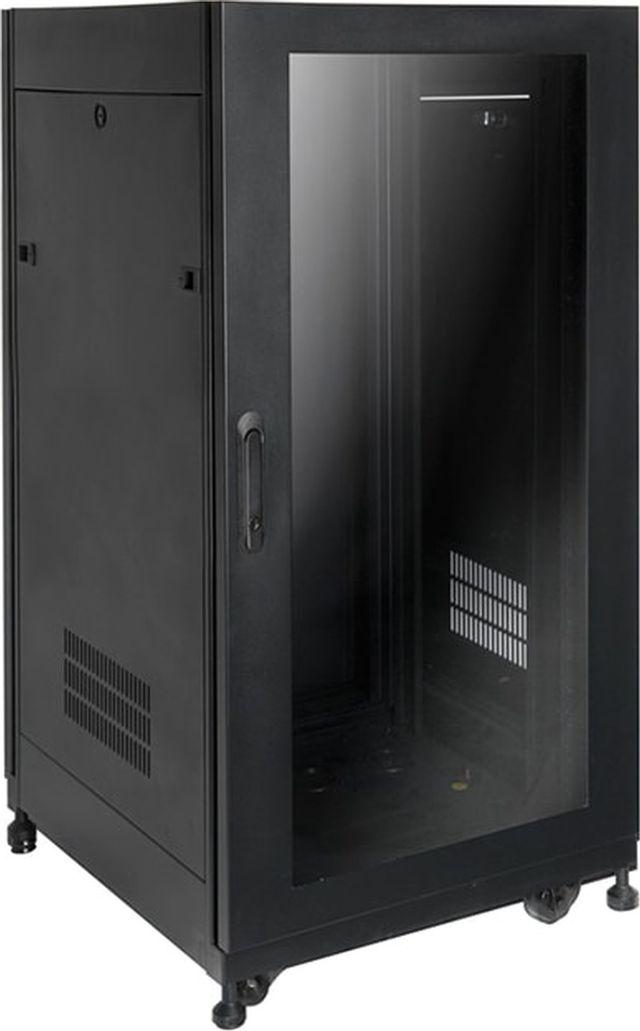 """SnapAV Strong® Signature Series 25"""" 22U Black Premium Enclosure-SR-AV-CAB-22U-25IN"""