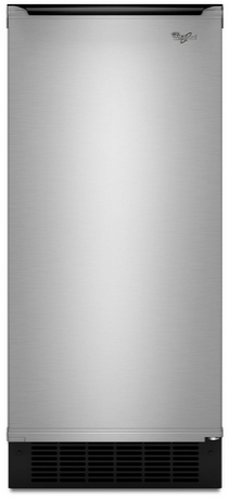 Whirlpool® Gold® 25 Cu. Ft. Ice Maker-Stainless Steel-GI15PDXZS