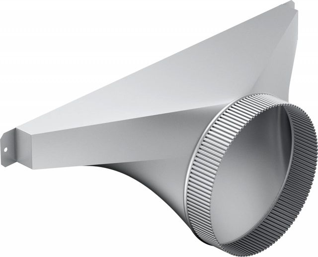 "Bosch 8"" Stainless Steel Side/Rear Transition for Downdraft-HDDSTRAN8"