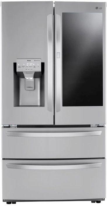 LG 27.8 Cu. Ft. Print Proof Stainless Steel French Door Refrigerator -LRMVS2806S