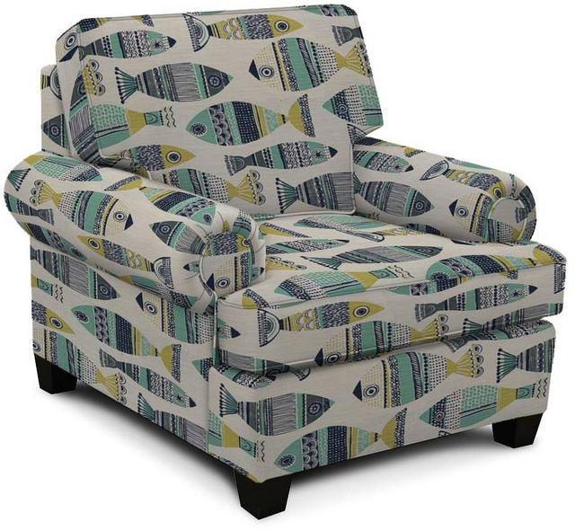 England Furniture Co. Edison Go Fish Seaweed Chair-8T04-8627