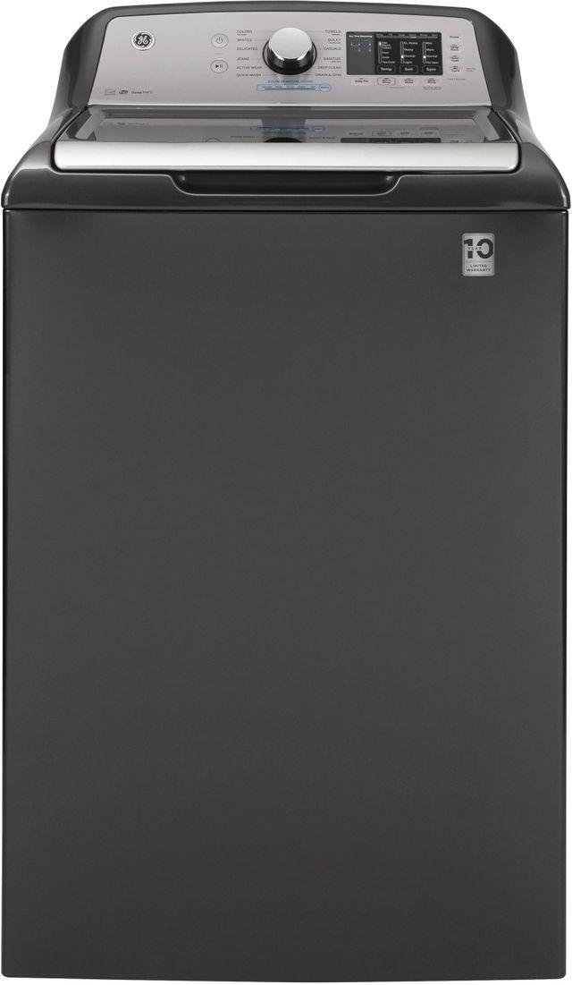 GE® 4.8 Cu. Ft. Diamond Gray Top Load Washer-GTW720BPNDG
