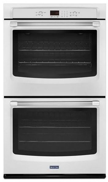 """Maytag 30"""" Electric Double Oven Built In-White-MEW7630DH"""