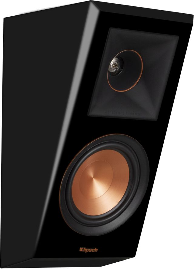 Klipsch® Reference Premiere Piano Black RP-500SA Dolby Atmos® Elevation/Surround Speakers-1066509