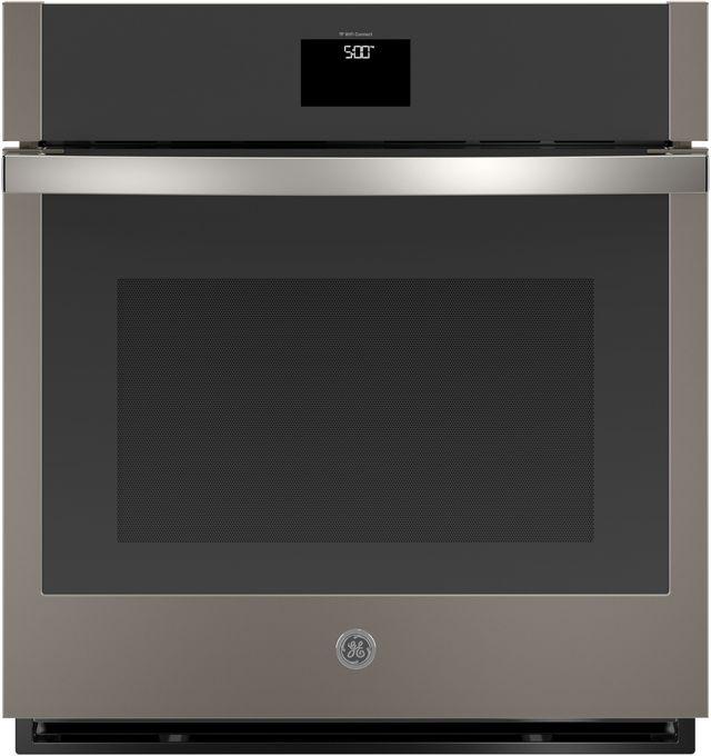 """GE® 27"""" Slate Electric Single Oven Built In-JKS5000ENES"""