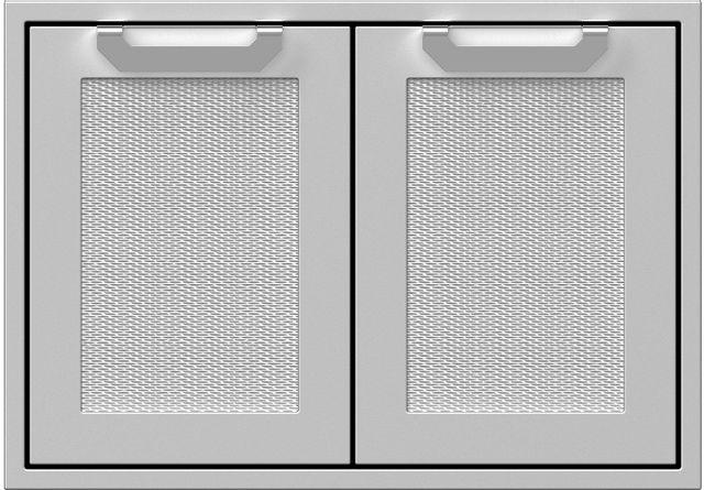 """Hestan Professional 30"""" Outdoor Double Access Door-Stainless Steel-AGAD30"""