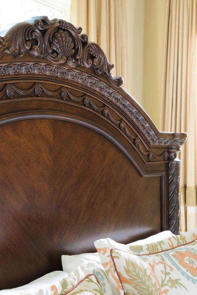 Millennium® By Ashley North Shore Dark Brown King/California King Panel Headboard-B553-158