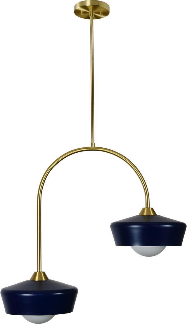 Renwil® Nevada Satin Brass Pendant Light-LPC4366