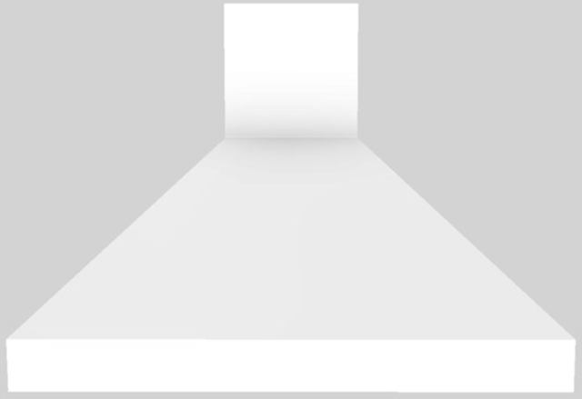 "Vent-A-Hood® 42"" Euro-Style Wall Mounted Range Hood-White-EPXH18-242 WH"