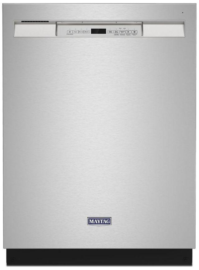 "Maytag® 24"" Fingerprint Resistant Stainless Steel Built In Dishwasher-MDB4949SKZ"