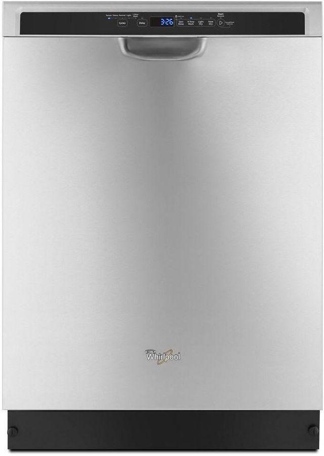 Lave-vaisselle encastré Whirlpool® de 24 po - Acier inoxydable monochromatique-WDF590SAJM