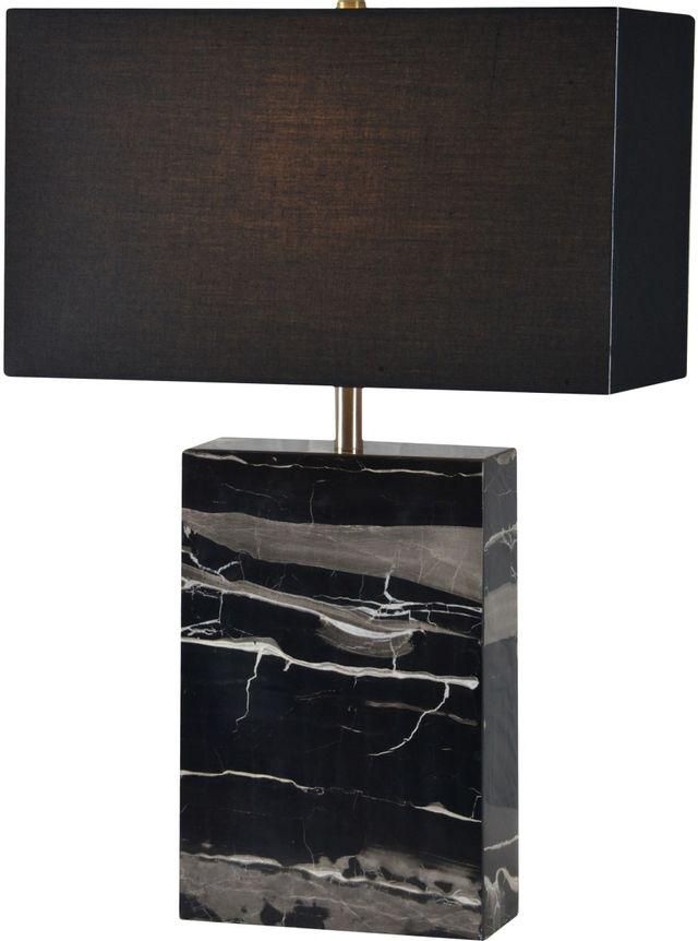 Renwil® Rydell Grey & Black Table Lamp-LPT889