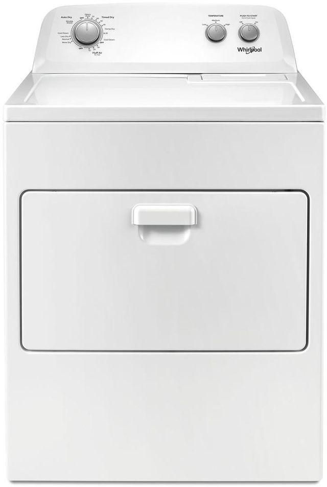 Whirlpool® 7.0 Cu. Ft. White Front Load Electric Dryer-WED4850HW