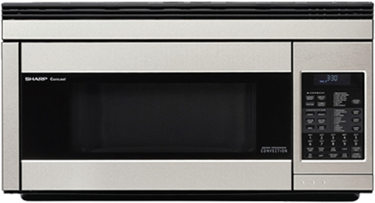Sharp® Carousel Over The Range Microwave Oven-Stainless Steel-R1874T