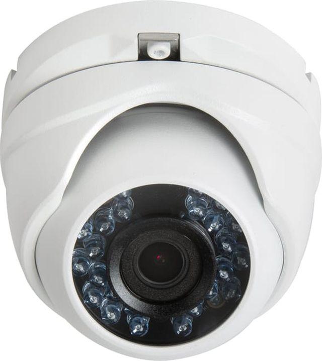 SnapAV Luma Surveillance™ 110 Series White Turret Analog Camera-LUM-110-TUR-A-WH