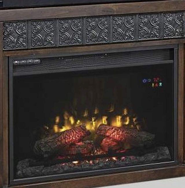 "Aspenhome® Alder Grove Brindle 84"" Fireplace Console-WDG1902-BDL"