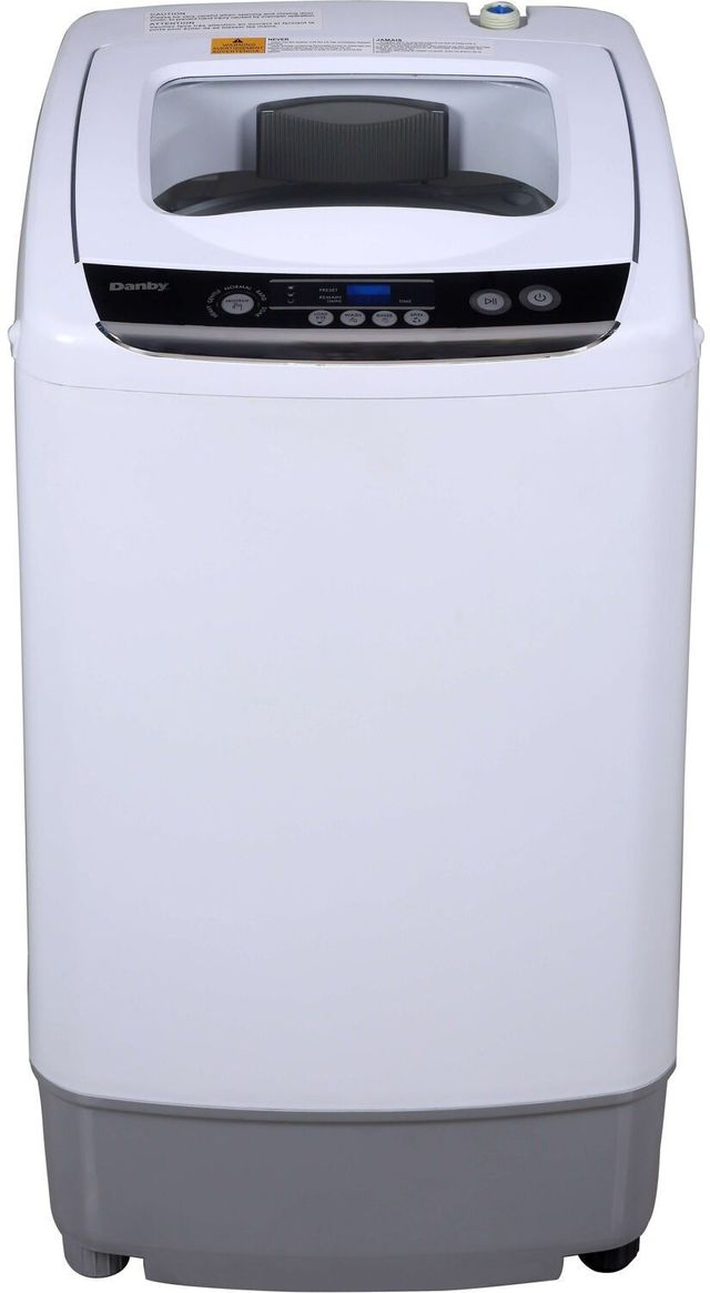 Danby® 0.9 Cu. Ft. White Top Load Compact Portable Washer-DWM030WDB-6