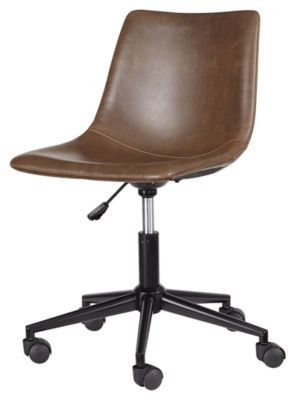 Signature Design by Ashley® Office Chair Program Brown Home Office Desk Chair-H200-01