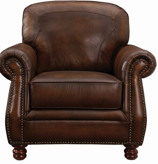 Coaster® Montbrook Red-Brown Chair-503983