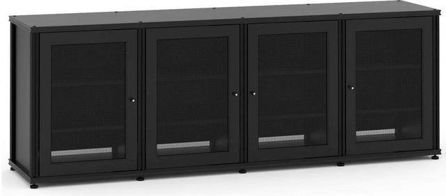 Salamander Designs® Synergy Model 347 AV Cabinet-Black-347B/B