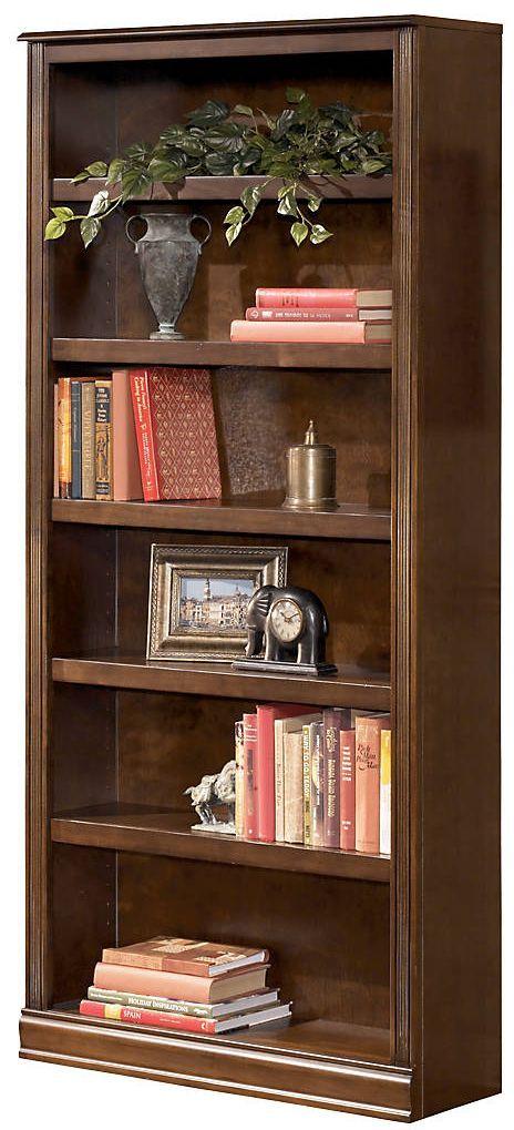 """Signature Design by Ashley® Hamlyn Medium Brown 75"""" Bookcase-H527-17"""