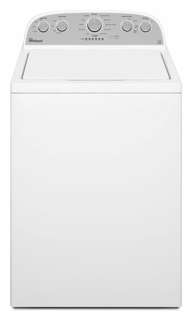 Whirlpool® 4.3 Cu. Ft. White High Efficiency Top Load Washer-WTW5000DW