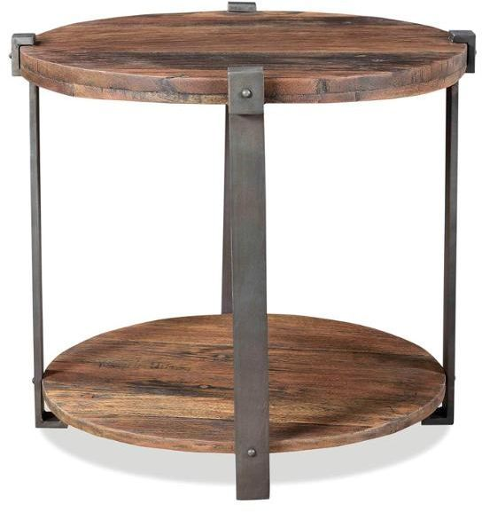Riverside Furniture Quinton Round Side Table-63408