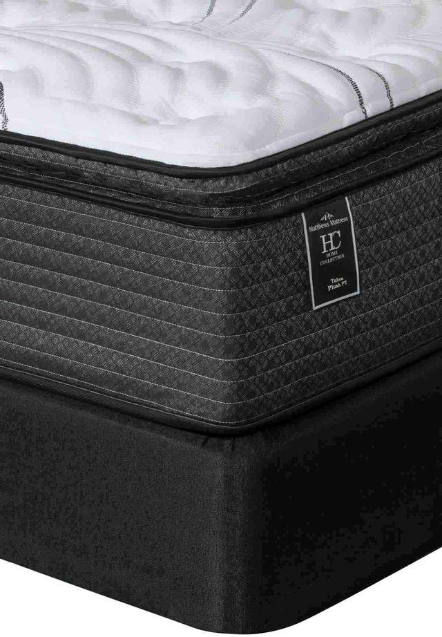 Matthews Mattress Tahoe Luxury Pocketed Coil Plush Pillow Top King Mattress-4000263-K