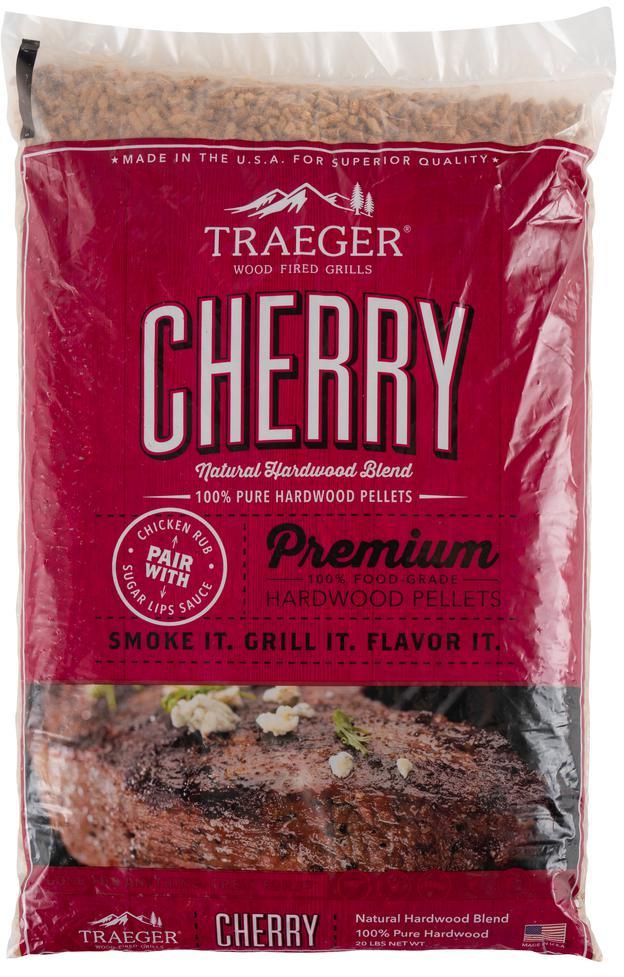 Traeger Cherry BBQ Wood Pellets (20 LBS) - PEL309-PEL309