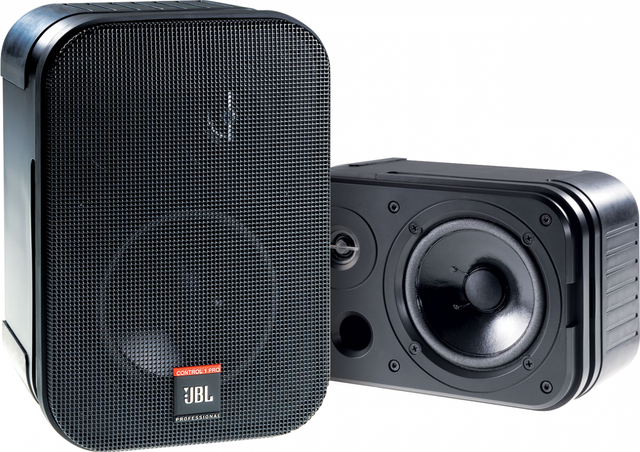 JBL® Control 1 Pro 2-Way Professional Compact Studio Monitor-C1PRO
