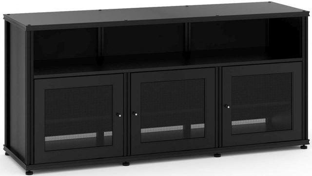 Salamander Designs® Synergy Model 339 AV Cabinet-Black-SB339B/B