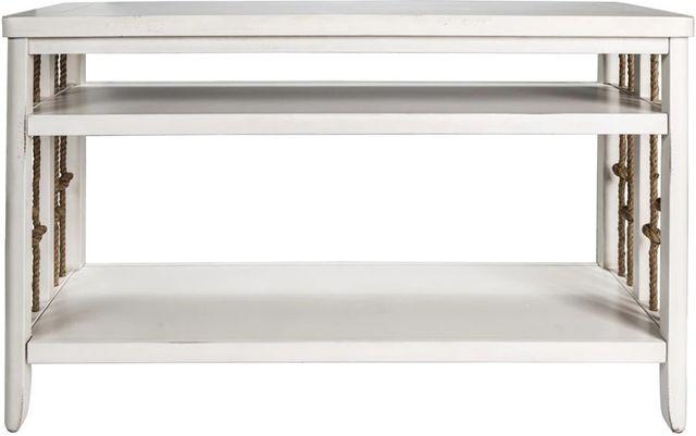 Liberty Furniture Dockside II White Sofa Table-469-OT1030