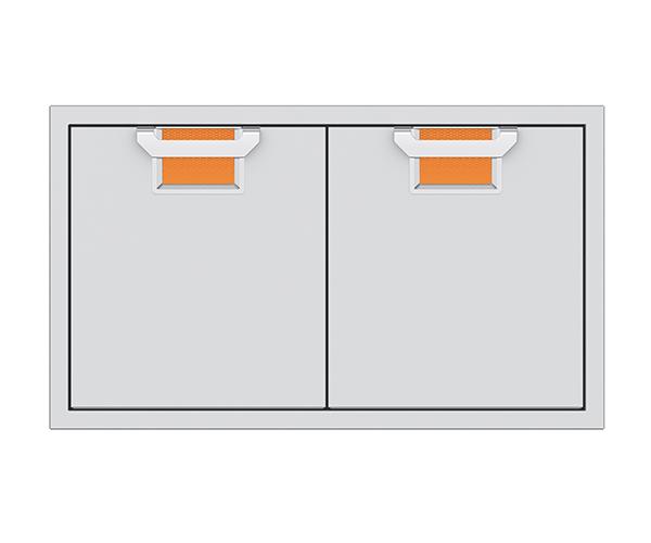 "Aspire By Hestan AEAD Series 36"" Citra Double Access Doors-AEAD36-OR"