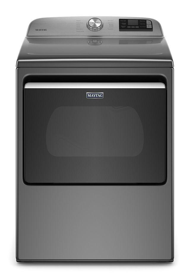Maytag® 7.4 Cu. Ft. Metallic Slate Front Load Gas Dryer-MGD6230HC