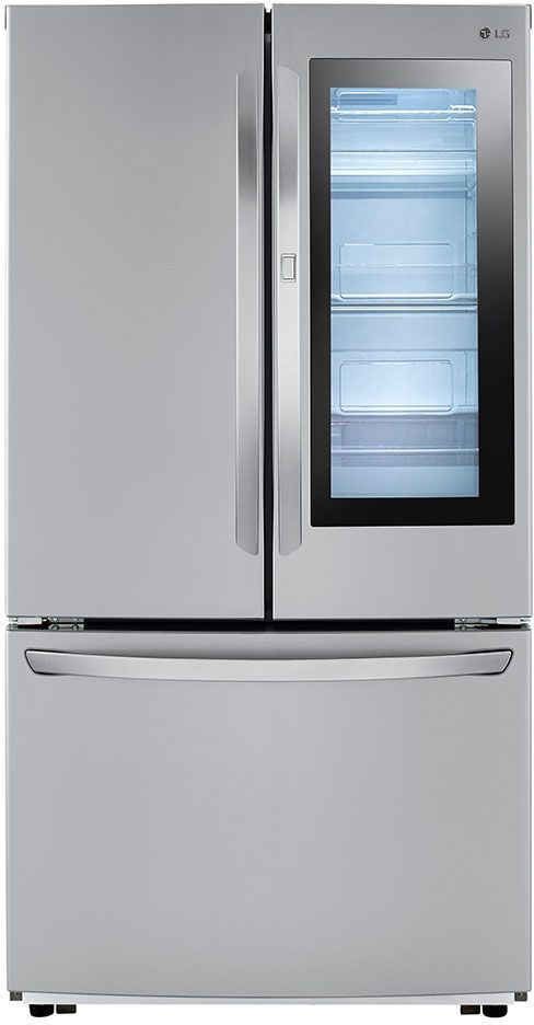 LG 22.60 Cu. Ft. PrintProof™ Stainless Steel Counter Depth French Door Refrigerator-LFCC23596S